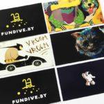 визитки с разными рубашками печать в минске быстро недорого