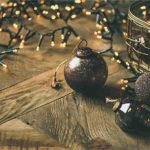 открытка с новым годом с рождеством календарь 2020